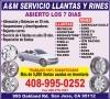 A&M Servicio, Llantas y Rines